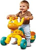 Little Tikes Go and Grow Lil' Rollin' Giraffe, Ride on Giraffe Toddler Bike for Boys and Girls - 3 Wheel Ride on Toys...