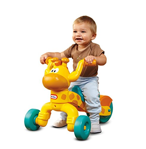 Little Tikes Go and Grow Lil' Rollin' Giraffe, Ride on Giraffe Toddler Bike for Boys and Girls - 3 Wheel Ride on Toys for Children with Adjustable Seat