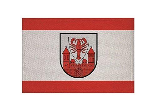 U24 Aufnäher Cottbus Fahne Flagge Aufbügler Patch 9 x 6 cm
