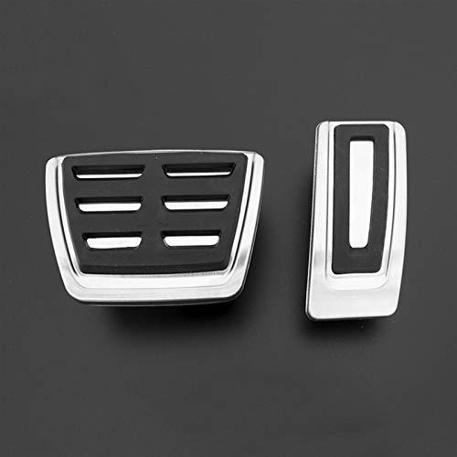 JPVGIA For VW Golf GTI 7 MK7 Seat Leon 5F MK3 Octavia A7 rápida for Pedal For Audi A3 8V Passat AT/MT Coche Acelerador de Freno Caso Pedales de Embrague (Color : AT 2pcs)