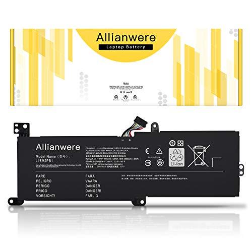 Allianwere L16M2PB1 Laptop Battery Compatible with Lenovo IdeaPad 320-14IKB 320-15IKB 320-14ISK 320-15ISK Series Ultrabook Notebook L16C2PB2 L16C2PB1 L16L2PB2 L16L2PB1 L16L2PB3 L16M2PB3
