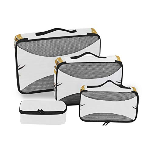 Bamboo House Decor 4pcs Toiletry Bag for Women with Hanging Hook Large Wash Bag Many Pockets Travel Set Travel Toiletry Kit Cosmetics Makeup Big Toilet Organizer Suitcase Luggage