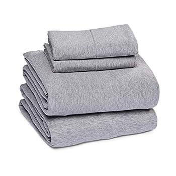 jersey bed sheets queen