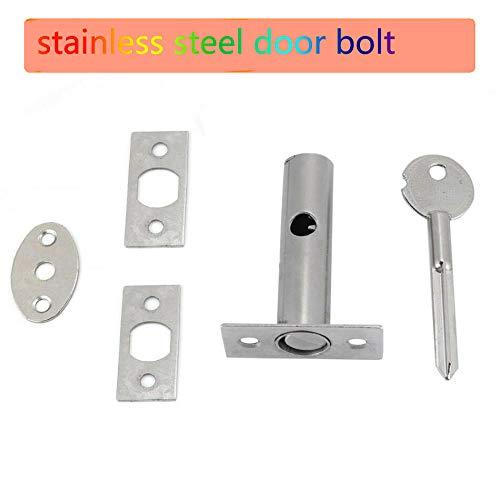 Sécurité Porte Rack Bolt et Star Clé 60 mm EB Pack 3 serrures 3 clés