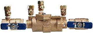 Febco 1112 850-QT Double Check Valve Bronze Body Quarter Turn Shutoff, 3/4