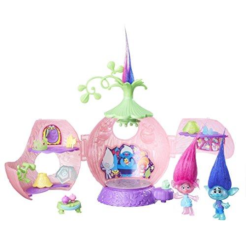 Hasbro B6560EU4 Trollstadt - Poppys Krönungssaal Spielset