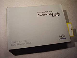 2016 Hyundai Santa Fe Sport Owners Manual