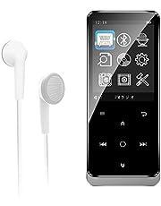 MP3プレーヤー bluetooth4.0 16G mp3プレイヤー 2.4インチ大画面 HIFI超高音質 合金製 FMラジオ 録音 デジタルオーディオプレーヤー 16GB内蔵容量 最大128GBまで拡張可能 専用イヤホン付け 音楽プレーヤー 小型 FMラジオ 録音対応