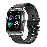 Smartwatch Donna Uomo, 1,65'' Touch Schermo Orologio Fitness Activity Tracker, Impermeabile IP67 Smart Watch con Cardiofrequenzimetro da Polso Contapassi Calorie Sonno Cronometro per iOS Android