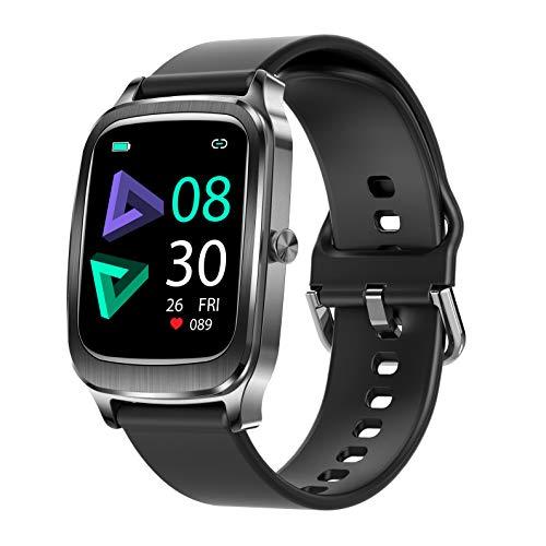Smartwatch Donna Uomo, 1,65   Touch Schermo Orologio Fitness Activity Tracker, Impermeabile IP67 Smart Watch con Cardiofrequenzimetro da Polso Contapassi Calorie Sonno Cronometro per iOS Android