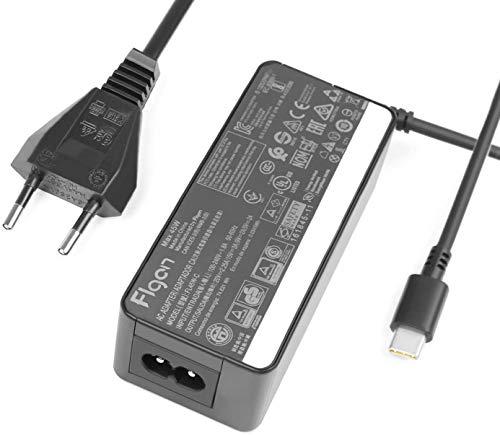 45W 2.25A USB-C Caricabatterie Alimentatore per Lenovo ThinkPad T590 T580 T495s T495 T470s T470 E490s E480 ThinkPad L380 l390 Yoga X1 Yoga Tablet 10 ideapad D330 ADLX45YLC2D ADLX45YDC2D ADLX45YCC2D