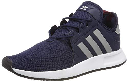 adidas X_PLR, Herren Gymnastikschuhe, Blau (Collegiate Navy/Silver Met./Collegiate Burgundy), 44 2/3 EU
