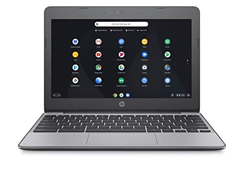 HP Chromebook 11-v001na 11.5 Inch Laptop - (Silver) (Intel N3060, 4 GB RAM, 16 GB eMMC, 100 GB Cloud Storage with Google One (1 Year Subscription) Chrome OS)