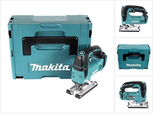 Makita DJV 182 ZJ Scie sauteuse pendulaire sans fil 18 V Brushless Solo + Makpac – sans batterie, sans chargeur