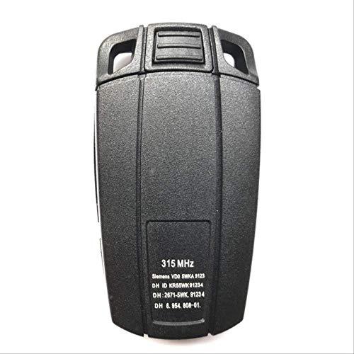 FBFGRemote Shell chiave per BMW E61 E90 E82 E70 E71 E87 E88 E89 X5 X6 Per 1 3 5 6 Serie di ricambio Cover a 3 tasti Smart Car Key CaseNessun supporto batteria