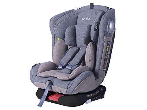 PETEX 44441104 Kindersitz King 402 ISOFIX HDPE nach ECE R44/04, schwarz