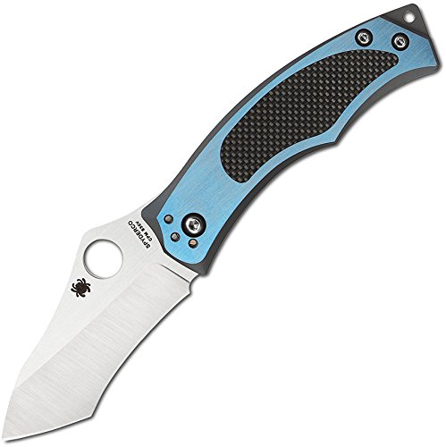 Spyderco SC201TIBLP Couteau de Poche Mixte Adulte, Multicolore, Taille Unique