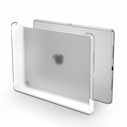 MoKo Hülle für iPad Pro 9.7 - Ultra Slim Translucent Hart Polycarbonate Schale Schutzhülle Case Cover für Apple iPad Pro 9.7 Zoll 2016 Modell Tablet, Matt Weiß (Auch für iPad Pro Offizielle Tastatur)