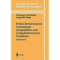 2: Finite-Dimensional Variational Inequalities and Complementarity Problems (Springer Series in Operations Research and Financial Engineering)【洋書】 [並行輸入品]