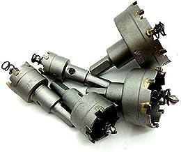 X-BAOFU, 5pcs HSS Broca de carburo de Sierra de perforación Núcleo Consejo Agujero Trabajo del Metal Herramientas de Corte de Metal de Madera de perforación cortadores 20 25 30 40 50 mm