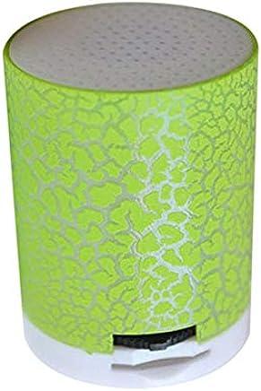 LAKD Altoparlante Bluetooth Altoparlante Bluetoo-Wireless Bluetooth Smart LED Music Stereo Glow con Tf USB Card Slot Impermeabile Altoparlante di Moda Outdoor Verde Erba - Trova i prezzi più bassi