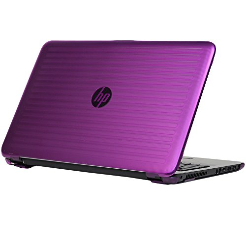 mCover iPearl Hard Shell Case for 15.6' HP 15-ayXXX (15-ay000 to15-ay099) Series/HP 15-baXXX Series (NOT Fitting 15' Pavilion or Envy laptops) Notebook PC (Purple)
