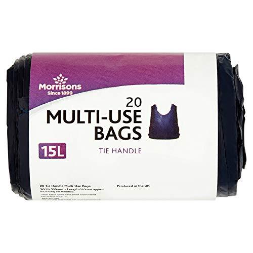 Morrisons Tie Handle 15L Multi Use Bags