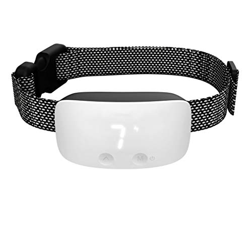 2020 Upgraded Dog Bark Collar, Rechargeable Anti Barking Training Collar - Bark Control Training Collar for Small Medium Large Dogs