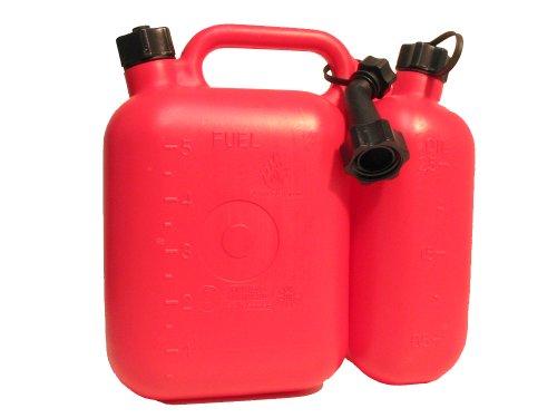 Filmer 38140 Kombi-Kanister f. Benzin u. Öl, 5 & 2,5 ltr.