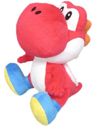 Namco Bandai - Peluche Red Yoshi Small De 17 cm, Plush