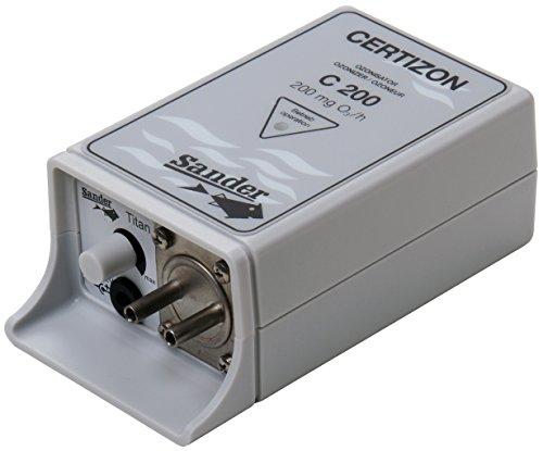 Sander Ozongenerator C-200, 200mg/h, max. Teich 4m³, Ozon Ausgang 4mm