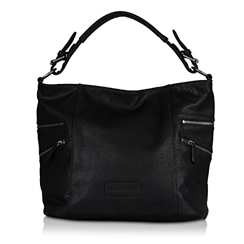 Fritzi aus Preussen Hobo Bag Cinja black