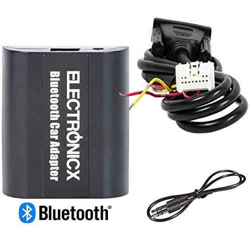 Electronicx Haut Parleur pour écouter la Musique en Streaming Via Bluetooth AUX pour modèles Nissan et Infiniti