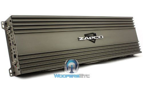 Review Of ZX-200.4 - Zapco 4-Channel Class A/B Full Range Amplifier