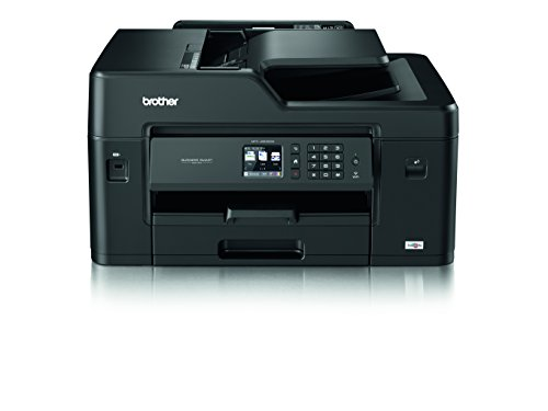 Brother MFC-J6530DW A3 All-in-One Tintenstrahl-Drucker schwarz Printer with Start Up Inks