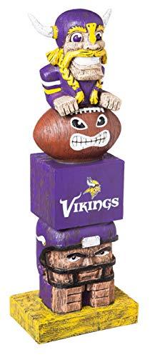 Team Sports America NFL Tiki Totems (16 Inches, Minnesota Vikings)
