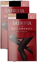 [グンゼ] タイツ サブリナ ウォーム 暖かく美脚きわだつ 40デニール 同色2足組 SBW21 レディース ブラック 日本 L-LL (日本サイズL相当)