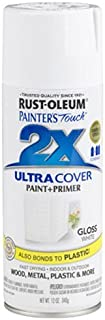 Rust-Oleum 249090 Painter's Touch 2X Ultra Cover, 12-Ounce, White