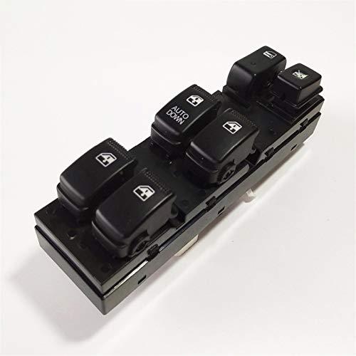 KUANGQIANWEI Botonera elevalunas 93570-EF000 Interruptor de Control de Ventana elevalunas de Coche Interruptor de elevación Frontal Izquierdo en Forma for el Kia Sportage 2005-2010