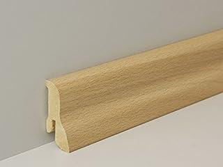 Sonderma/ße 1 St/ück 29mm starke Holzleisten Rechteckleiste Kanth/ölzer Buche massiv 50mm breit 29x50x300mm lang.
