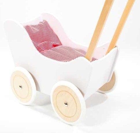 Puppenwagen Schiebeauto PELICAN Lauflernhilfe Lauflernwagen NEU MIT Bettwäsche