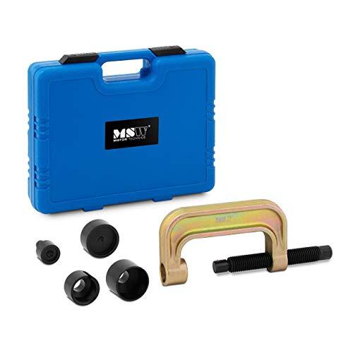 MSW Extractor De Rótulas Taller De Automóvil MSW-STE-11 (para Mercedes-Benz 211, 220, 230, Set de 5 Piezas en maletín, Fabricado en Acero)