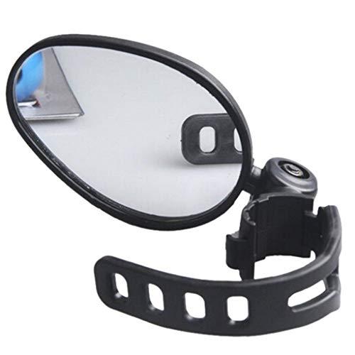 SuperglockT Fahrradspiegel 360 Grad drehbar Radfahren Rückspiegel universal Lenker Rückspiegel Sicherheit Spiegel für Fahrrad Mountainbikes Rennrad Radsport