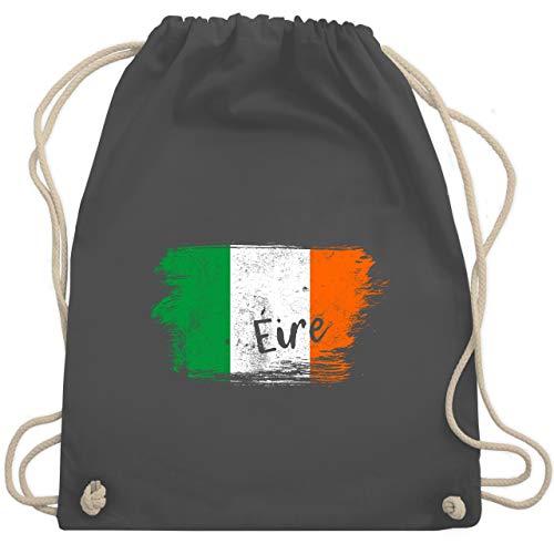 Städte & Länder Kind - Irland Vintage - Unisize - Dunkelgrau - irland und seine kinder - WM110 - Turnbeutel und Stoffbeutel aus Baumwolle