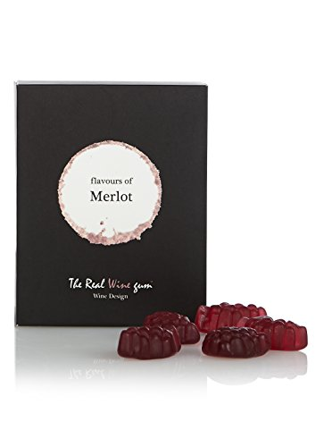 Vinoos Flavours of Merlot - Golosinas con sabor de vino, 50 g