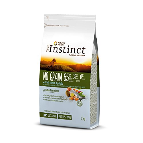 True Instinct No Grain Medium-Maxi Pienso para Perro Junior con Salmón -...