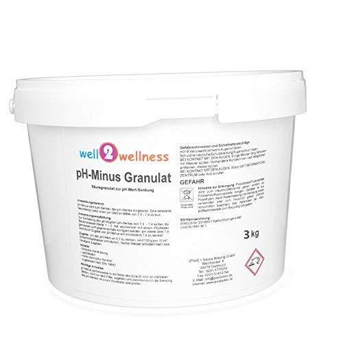 well2wellness pH Minus Granulat/pH Senker Granulat 3,0 kg