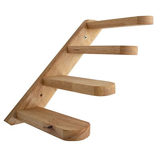 armine88 Cat Steps Treppe, Cat Ladder Steps, Pet Cat Wandhalterung Kletterbalkon Fenster Leiter Regal, Pet Geschenke Cat Toy Easy Install
