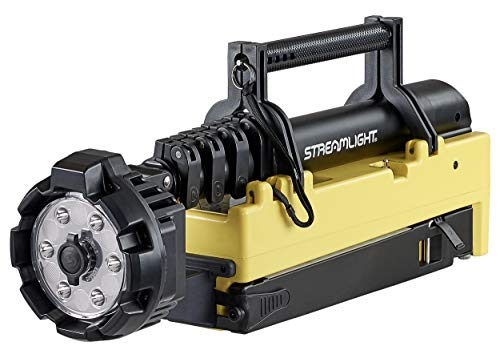 Streamlight 45680 Rechargeable Portable Scene Light EXT with 120V AC/12V DC Power, Yellow, Upto 84-Inch
