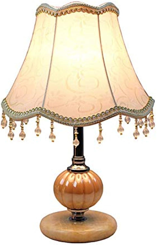 HWJYTDTischleuchte Verstellbares Licht Schlafzimmer Led Tischlampe Eisen + Stoff Dekoration Nachttischlampe MitNetzkabel Innenbeleuchtung